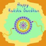 Raksha Bandhan feliz Ilustración del vector libre illustration