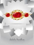 Raksha bandhan festival background Royalty Free Stock Photos