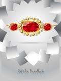 Raksha bandhan festival background Royalty Free Stock Photos