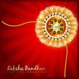 Raksha bandhan festival design Stock Image