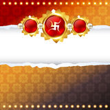 Raksha bandhan festival design Royalty Free Stock Photography