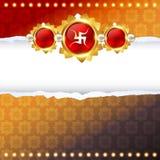 Raksha bandhan festival design Royalty Free Stock Photography