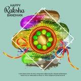 Raksha Bandhan Indian Festival Celebration heureux illustration libre de droits