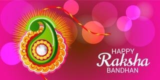 Raksha Bandhan Indian Festival Celebration heureux Illustration Stock