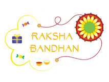Raksha Bandhan. An Indian festive background. Bright colors which captures the essence of Raksha Bandhan Royalty Free Stock Photography