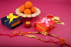 Raksha bandhan lub Rakhi, Indiański festiwal zdjęcia stock
