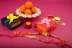 Raksha bandhan oder Rakhi, ein indisches Festival stockfotos