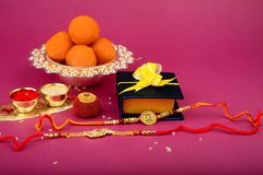 Raksha bandhan ou Rakhi, un festival indien image stock