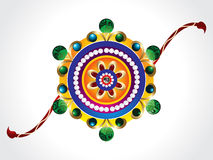Raksha bandhan rakhi background. Vector illustration Stock Photos