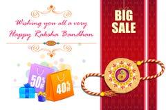 Raksha Bandhan Sale Royalty Free Stock Images
