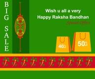 Raksha Bandhan Shopping Royaltyfria Foton
