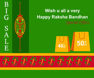 Raksha Bandhan Shopping Royalty Free Stock Photos