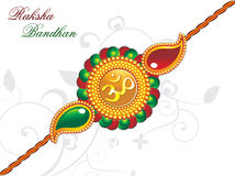 Raksha bandhan theme rakhi Royalty Free Stock Photo