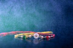 Raksha indiano bandhan, Rakhi di festival fotografia stock