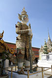 Rakshas. Statue of Rakshas, Wat Phra Kaew, Bangkok Royalty Free Stock Photography