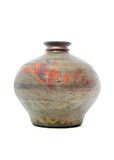 Raku pottery Royalty Free Stock Images