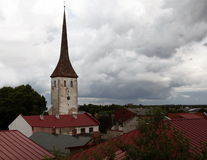 Rakvere estonia Arkivfoton