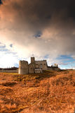 Rakvere mystical medieval castle in autumn Stock Photos