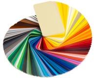 ral看板卡的颜色 免版税库存图片