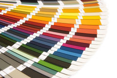 RAL. Open RAL sample colors catalogue stock image