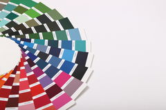Ral colours on white background Stock Photo