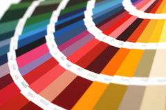 RAL sample colors catalogue Royalty Free Stock Image