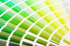 RAL sample colors catalogue Stock Photo