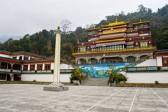 Ralang Monastery. Is a Buddhist monastery of the Kagyu sect of Tibetan Buddhism in southern Sikkim, northeastern India.  has an extensive collection of Royalty Free Stock Images