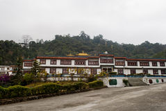 Ralang Monastery. Is a Buddhist monastery of the Kagyu sect of Tibetan Buddhism in southern Sikkim, northeastern India.  has an extensive collection of Stock Image