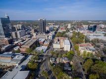 Raleigh śródmieście 3/2016 zdjęcia stock