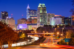 Raleigh, βόρεια Καρολίνα Στοκ εικόνα με δικαίωμα ελεύθερης χρήσης