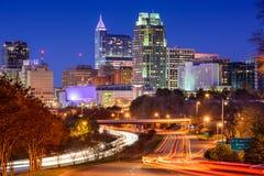 Raleigh, Carolina del Norte Imagen de archivo libre de regalías