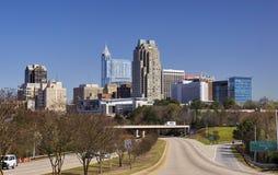 Raleigh, Carolina Skyline du nord image stock