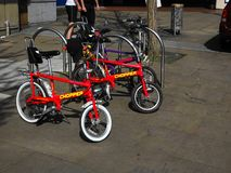 Raleigh Chopper Bike iconico immagine stock