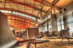 Raleigh Durham International Airport-Anschluss während Feiertag tra stockfotografie