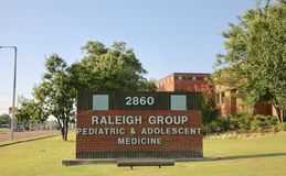 Raleigh Group Pediatrics en Adolescentiegeneeskunde royalty-vrije stock fotografie