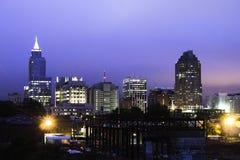 Raleigh i morgonen Arkivfoto