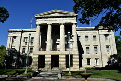 Raleigh, NC: C. 1840's State Capitol Building Stock Photo