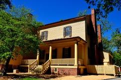 Raleigh, NC: Front Mordecai Plantation House del sur Fotos de archivo