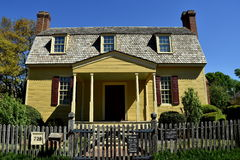 Raleigh NC: Joel Lane Museum House 1779 royaltyfria bilder