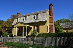 Raleigh, NC: 1779 Joel pasa ruchu muzeum dom Zdjęcie Royalty Free