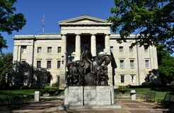 Raleigh, NC: NC State House Royalty Free Stock Photos