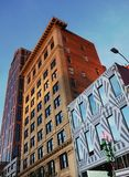 RALEIGH,NC/USA - 10-30-2018: Buildings in downtown Raleigh, NC stock image