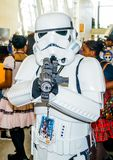 Raleigh, NC, USA - May 24, 2014: Animazement 2014. Anime convention attendee cosplayer at the Raleigh Convention Center on May 24, 2014, in Raleigh, North Royalty Free Stock Image