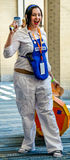 Raleigh, NC, USA - May 22, 2015 - Animazement 2015. Raleigh, NC, USA - May 22, 2015: Animazement 2015 anime convention attendee cosplayer at the Raleigh Stock Photo