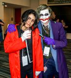 Raleigh, NC, USA - May 24, 2014: Animazement 2014 stock photography