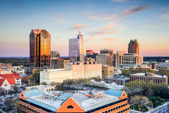 Raleigh North Carolina Imagem de Stock