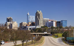 Raleigh, North Carolina Skyline stock image