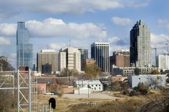 Raleigh Skyline Stock Photo