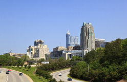 Raleigh Skyline Stock Photos